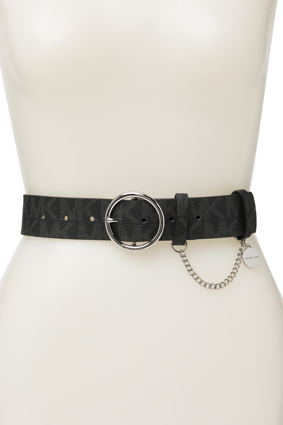 Image of Michael Kors Mini Chain Logo Belt