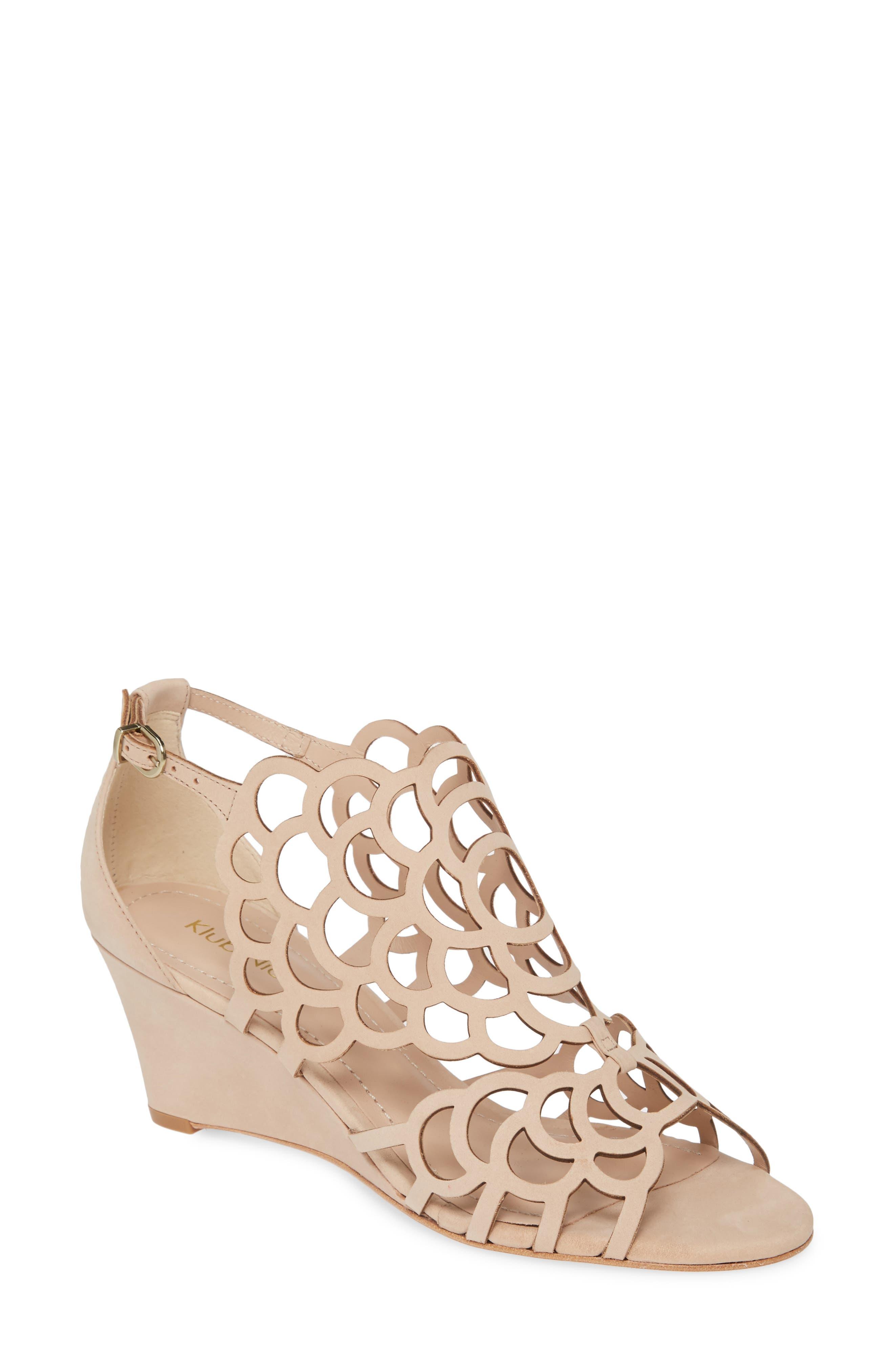 Millie Cutout Wedge Sandal