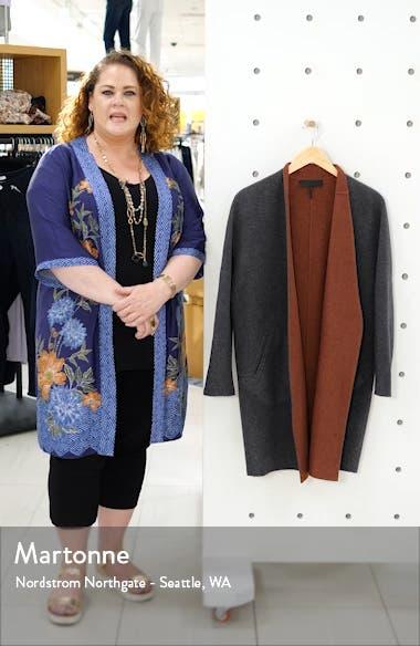 Singer Reversible Wool Blend Coat, sales video thumbnail