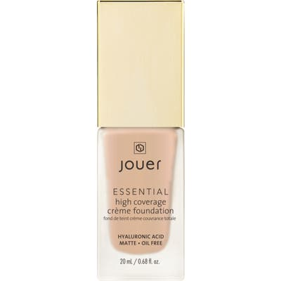 Jouer Essential High Coverage Creme Foundation - Almond