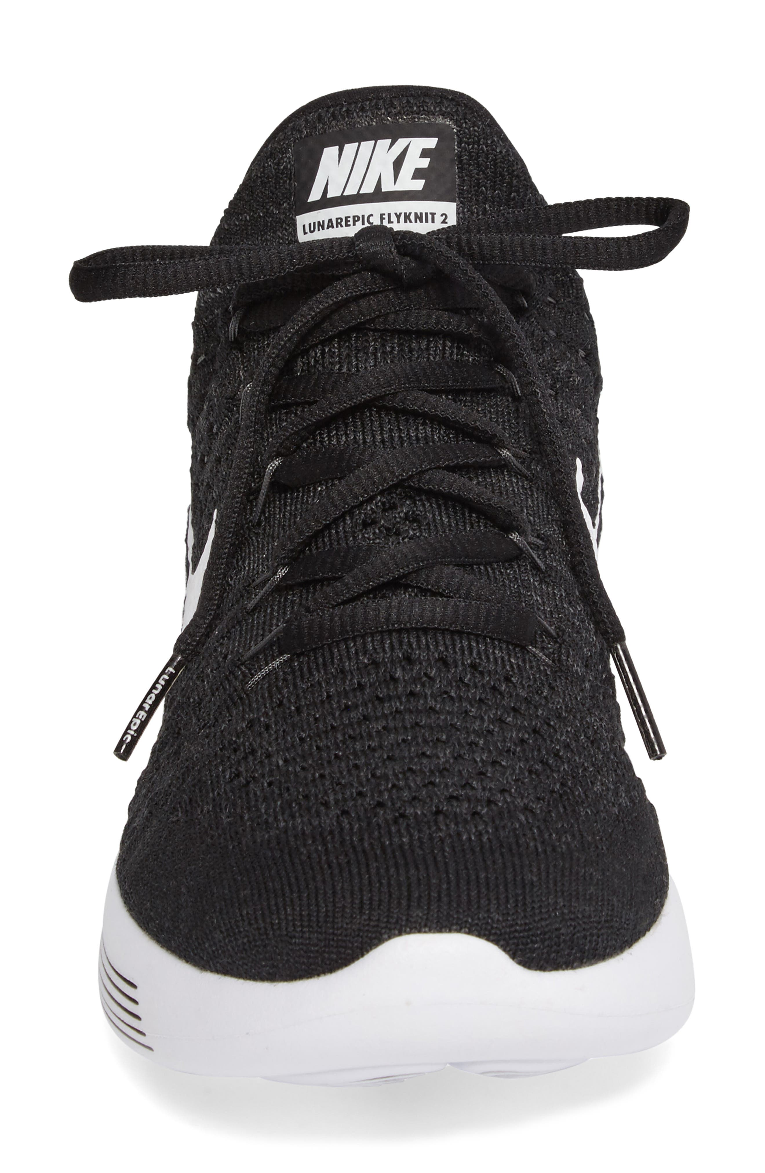 ,                             LunarEpic Low Flyknit 2 Running Shoe,                             Alternate thumbnail 10, color,                             001