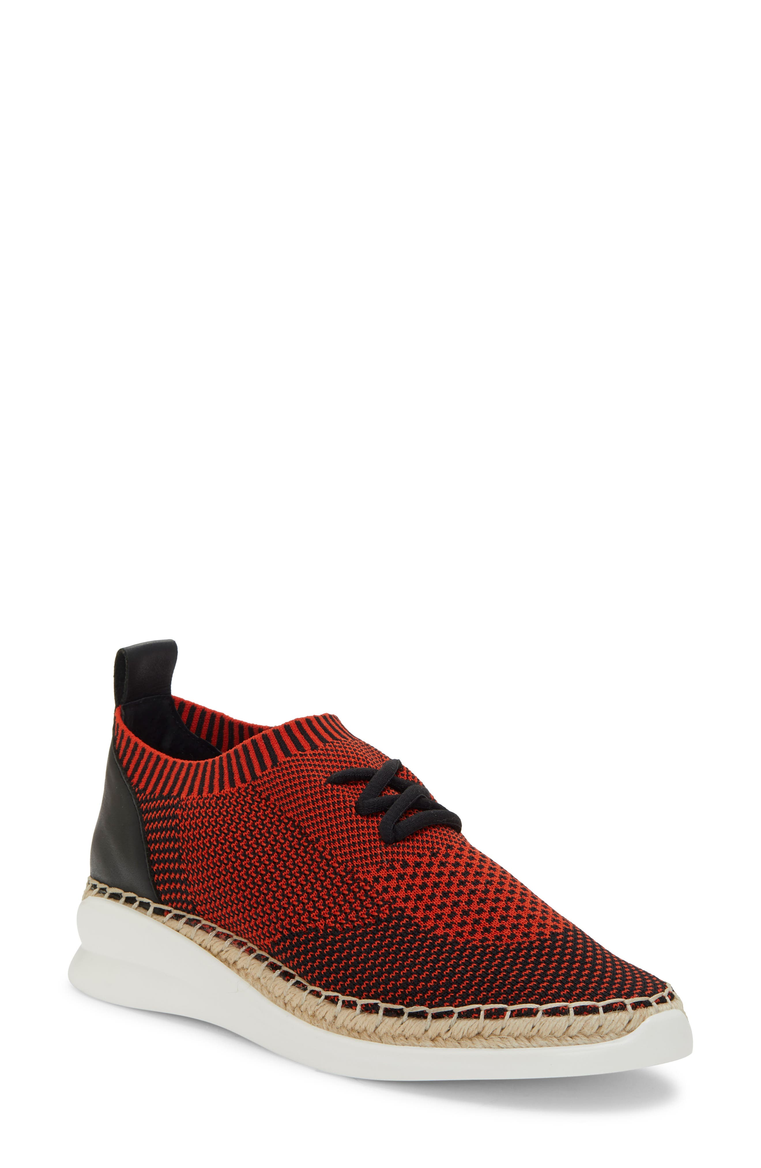 Vince Camuto Affina Sneaker- Red