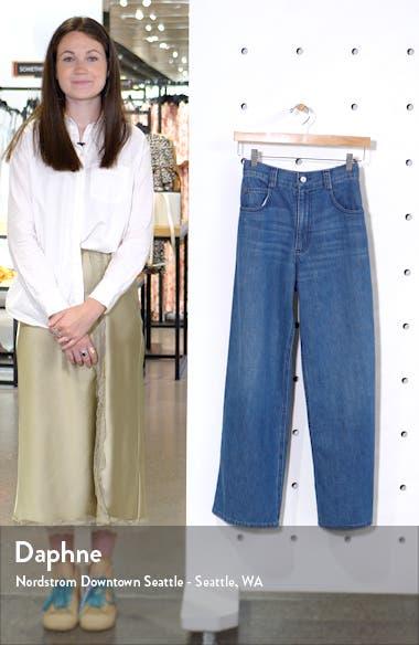 Clean Legion Crop Wide Leg Jeans, sales video thumbnail