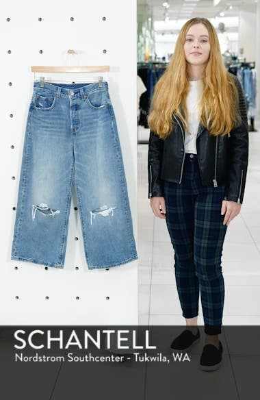 High Water Wide Leg Jeans, sales video thumbnail