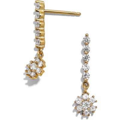 Baublebar April Crystal & Vermeil Drop Earrings