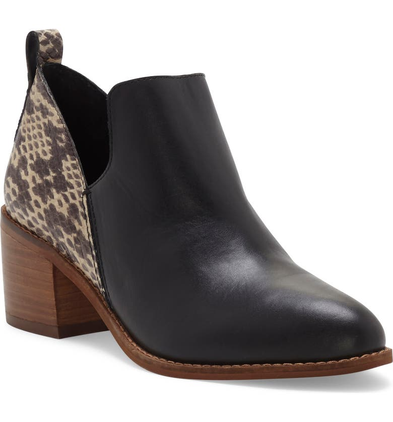 1.STATE Idania Bootie, Main, color, BLACK/ ROCCIA