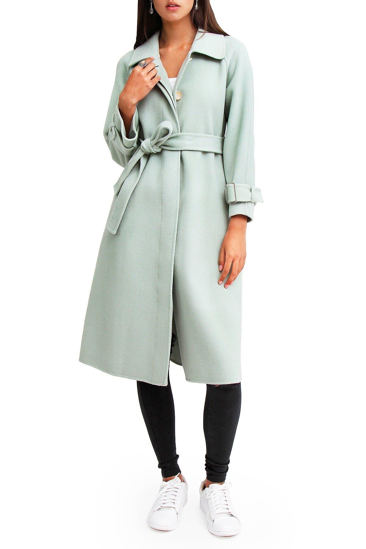 Image of Belle & Bloom Shore To Shore Wool Coat