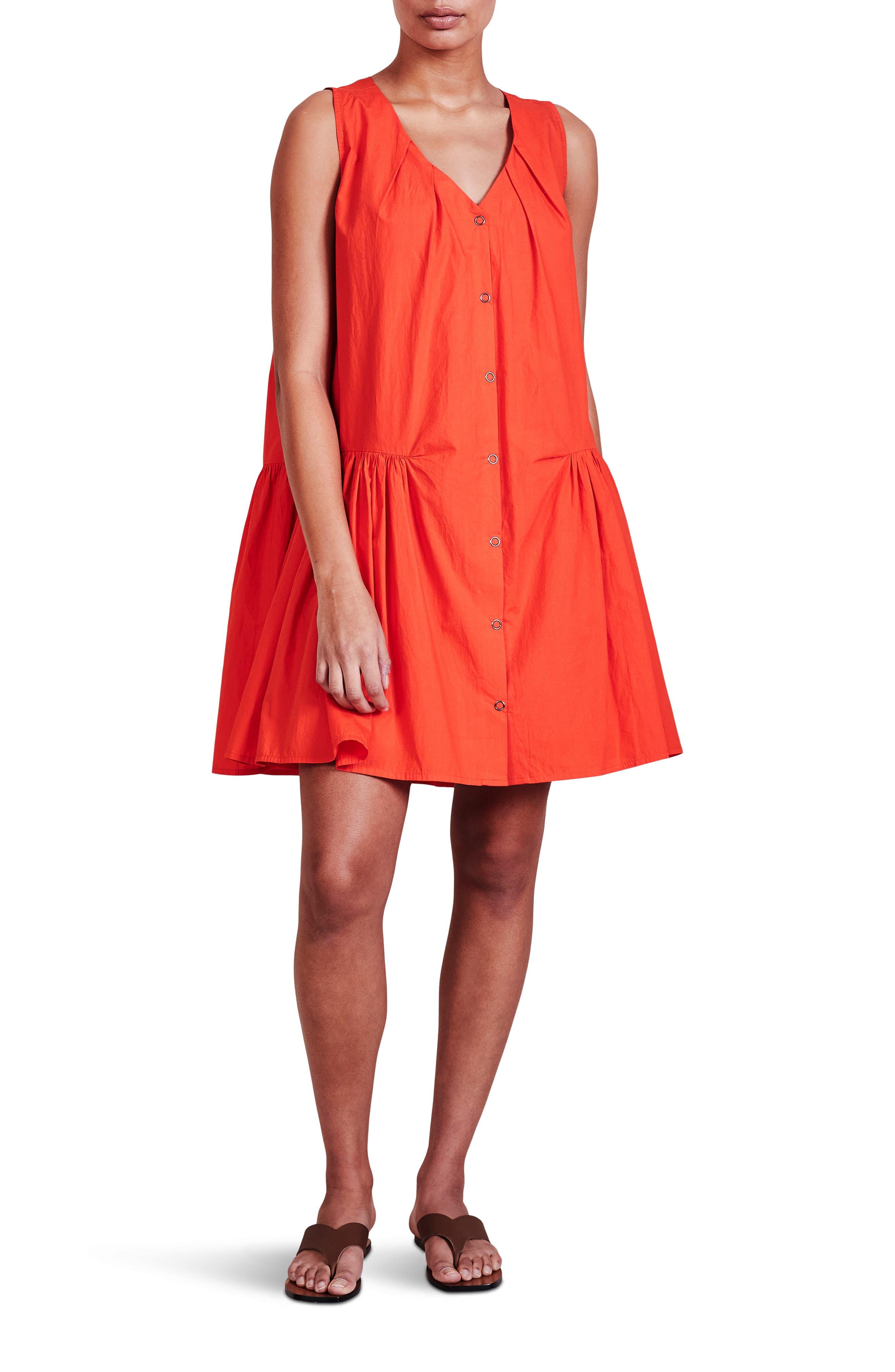 Rosarito Drop Waist Organic Cotton Dress
