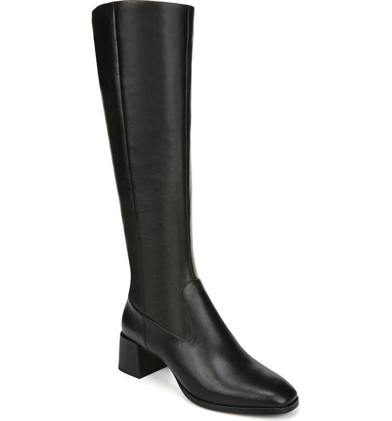VIA SPIGA Sanora Knee High Boot, Main, color, 001