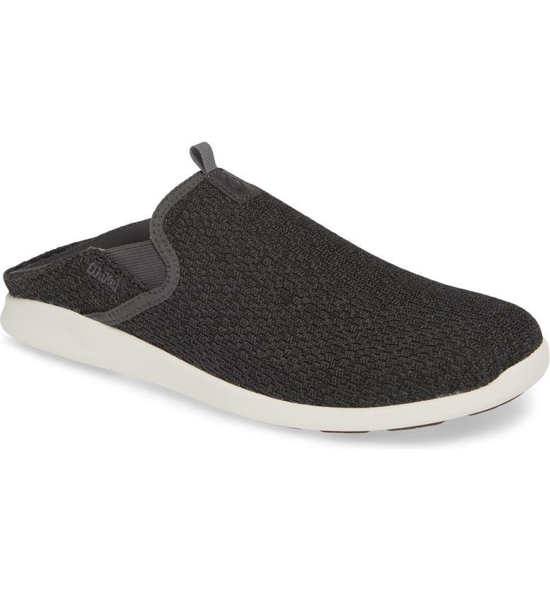 OLUKAI Alapa Convertible Sneaker, Main, color, DARK SHADOW MESH