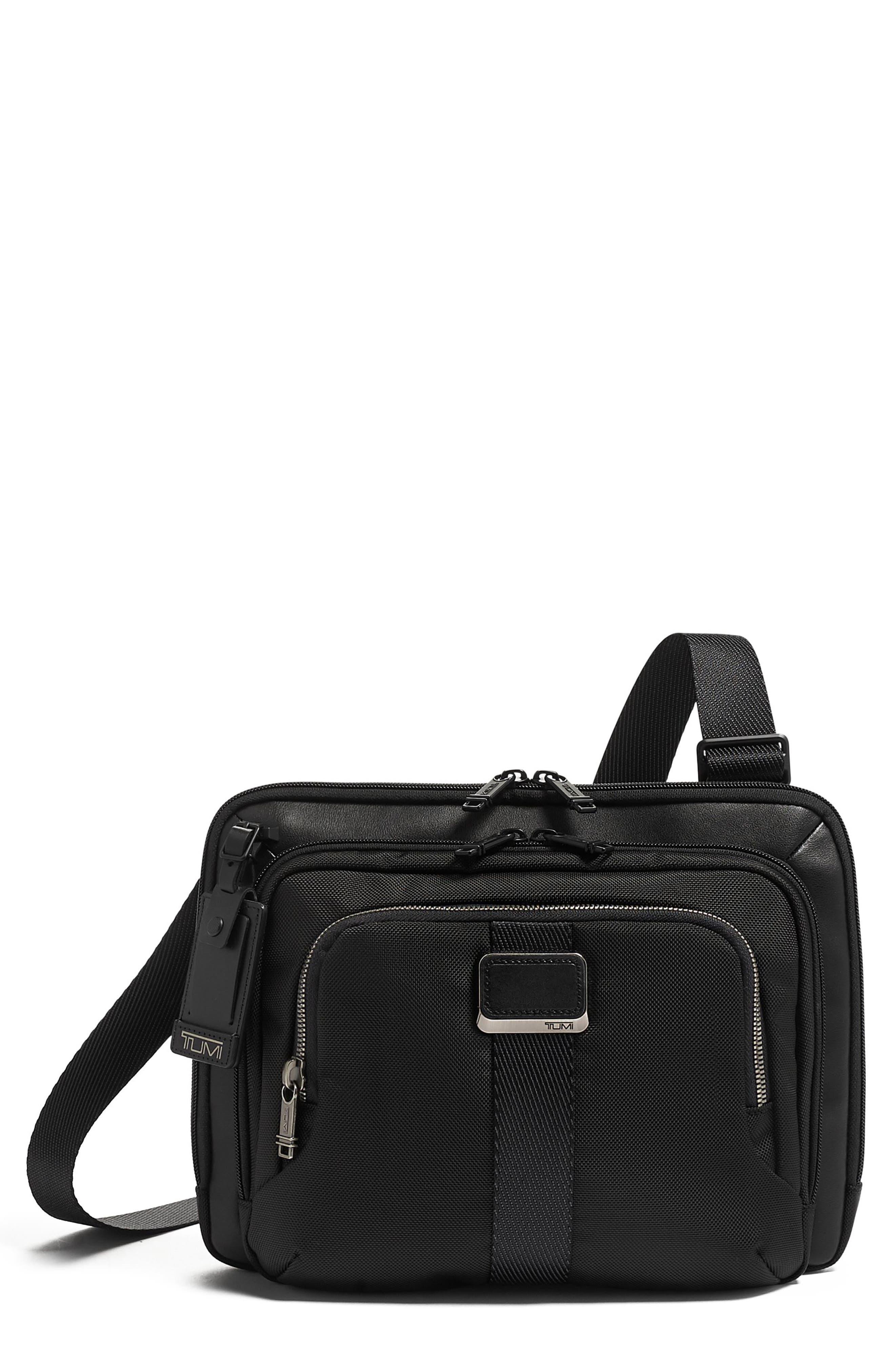 Tumi Jackson Crossbody Bag - Black