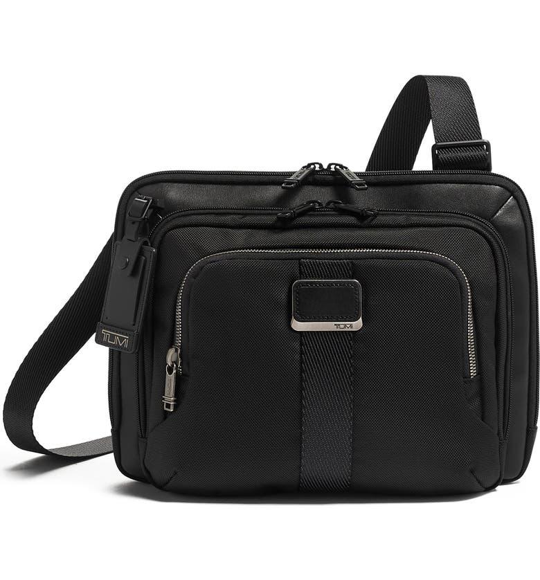 TUMI Jackson Crossbody Bag, Main, color, BLACK