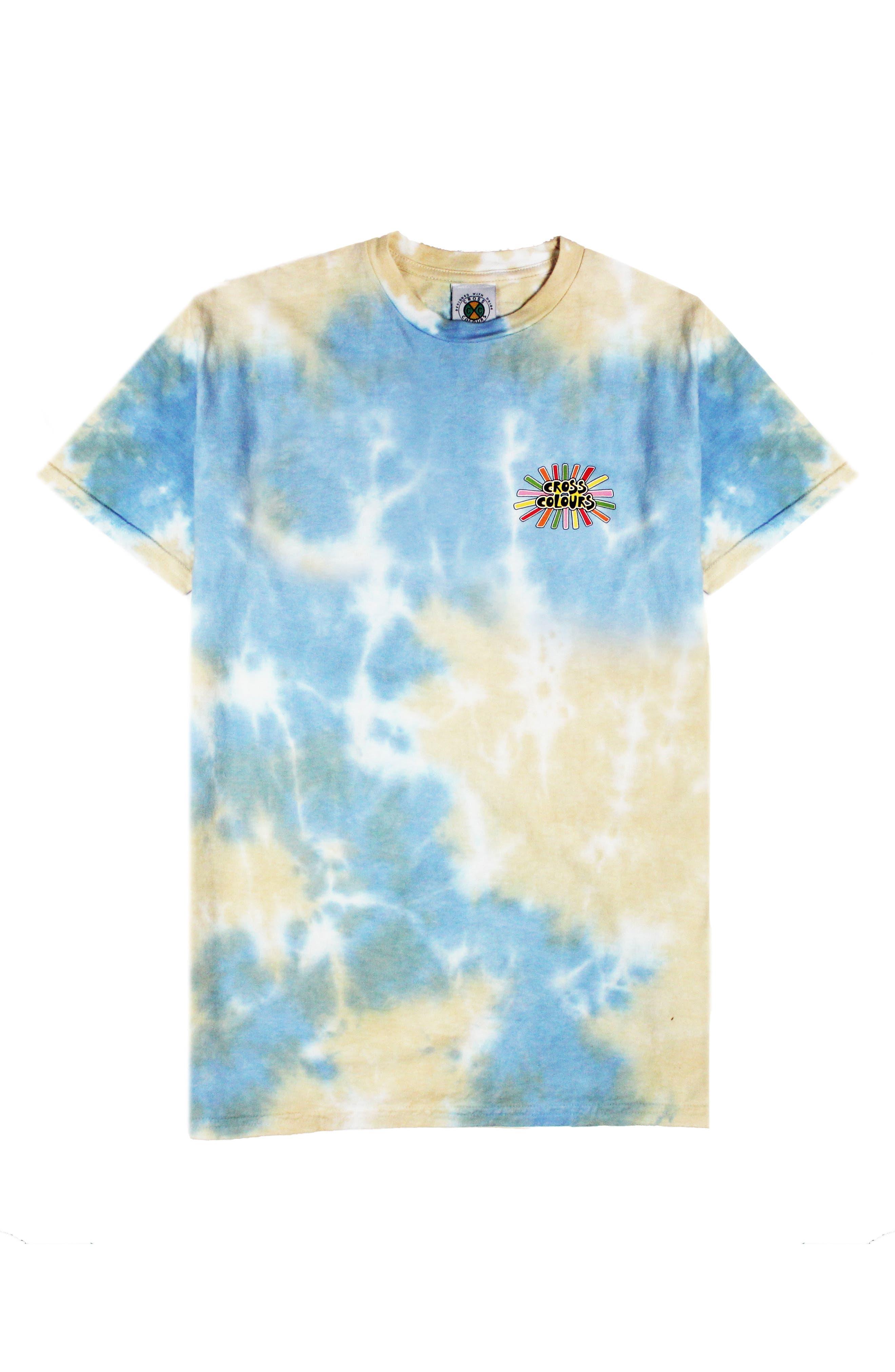 Sunshine Logo Tie Dye Tee