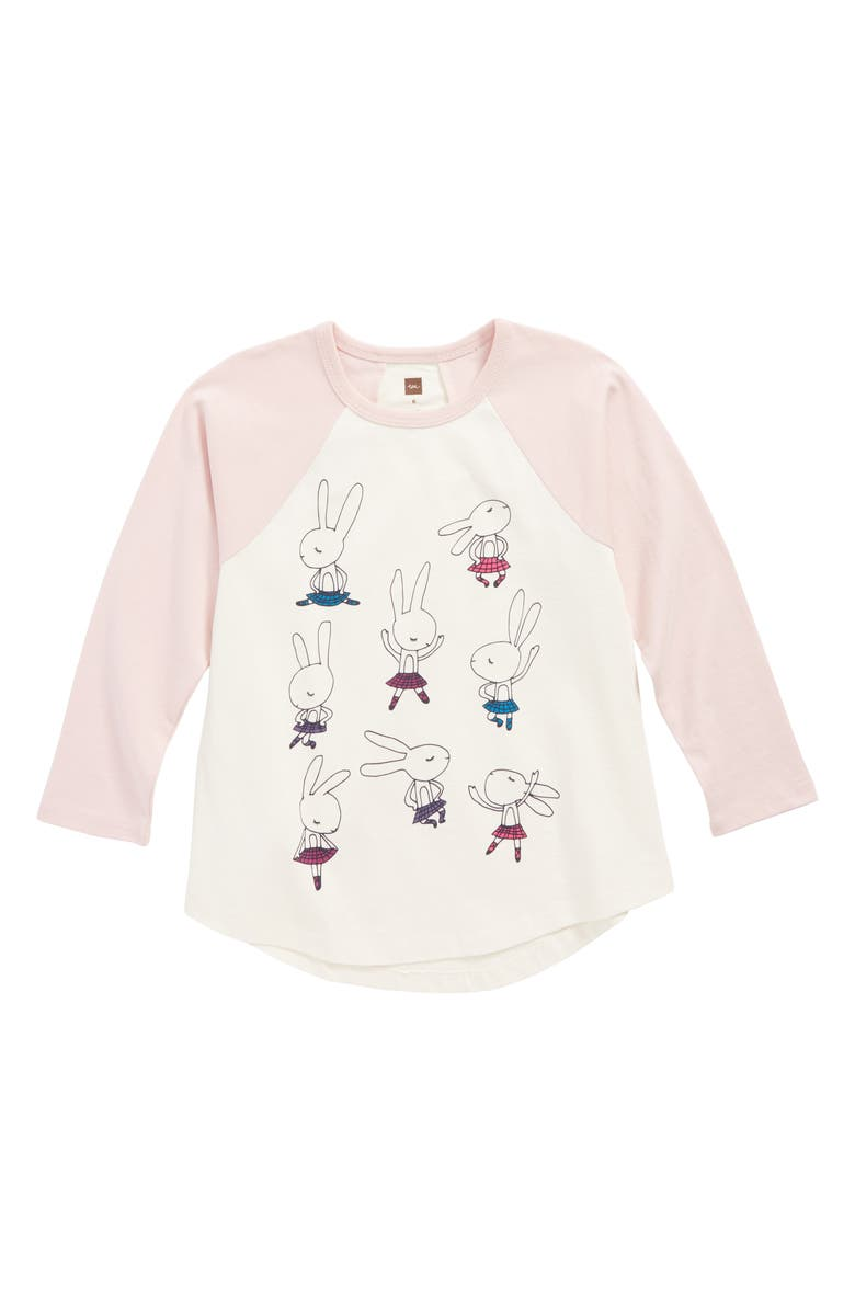 TEA COLLECTION Highland Dance Graphic Tee, Main, color, 656
