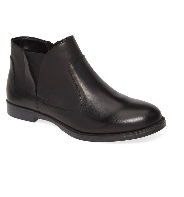 BELLA VITA Rory Bootie, Main, color, BLACK LEATHER