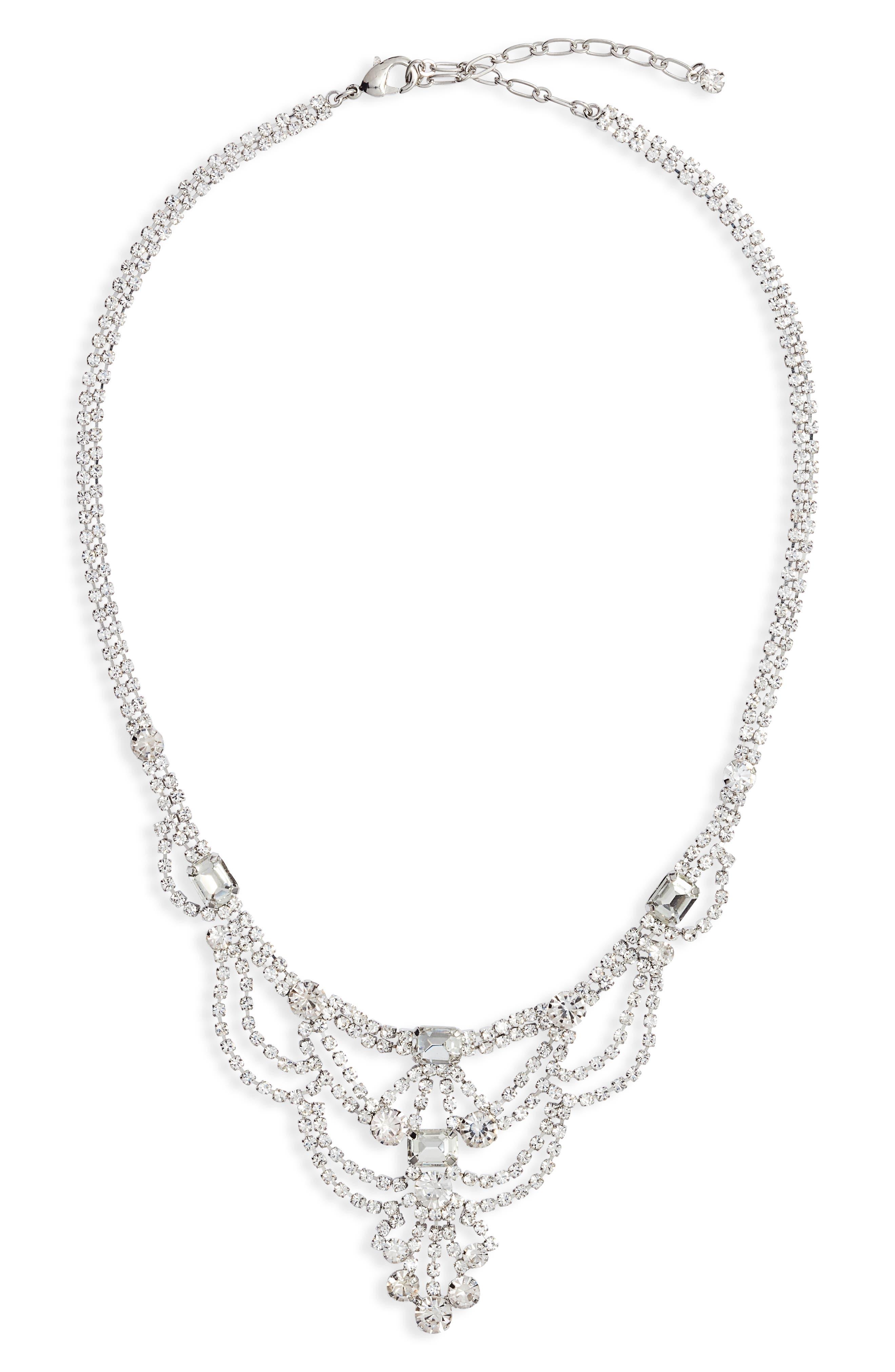 Drape Frontal Necklace