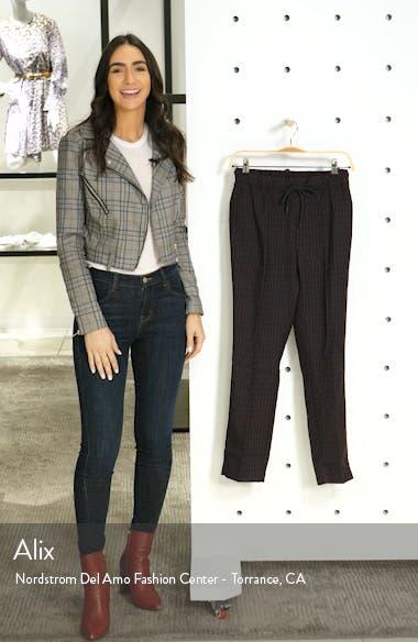 Pinstripe Crop Trousers, sales video thumbnail