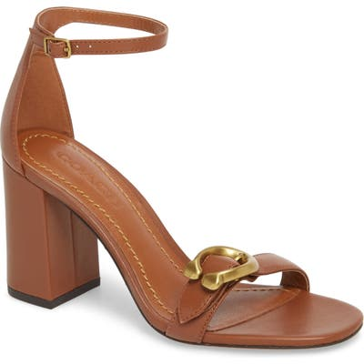 Coach Maya Sandal- Brown