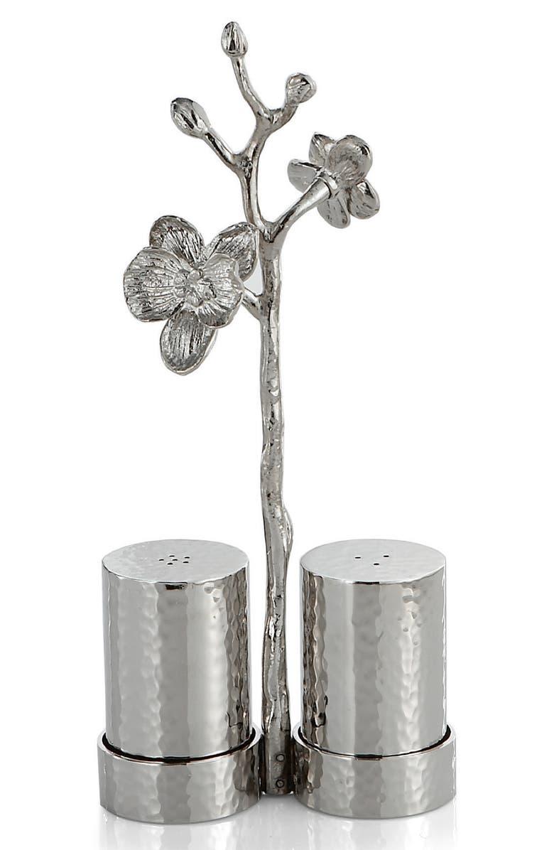 MICHAEL ARAM White Orchid Salt & Pepper Shakers, Main, color, 100