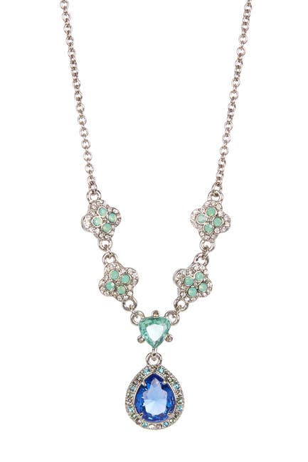 Image of Carolee Nassau Nights Teardrop Necklace