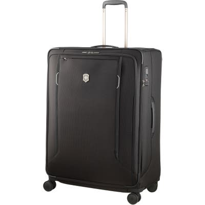 Victorinox Swiss Army Werks 6.0 Extra Large 31-Inch Spinner Packing Case - Black