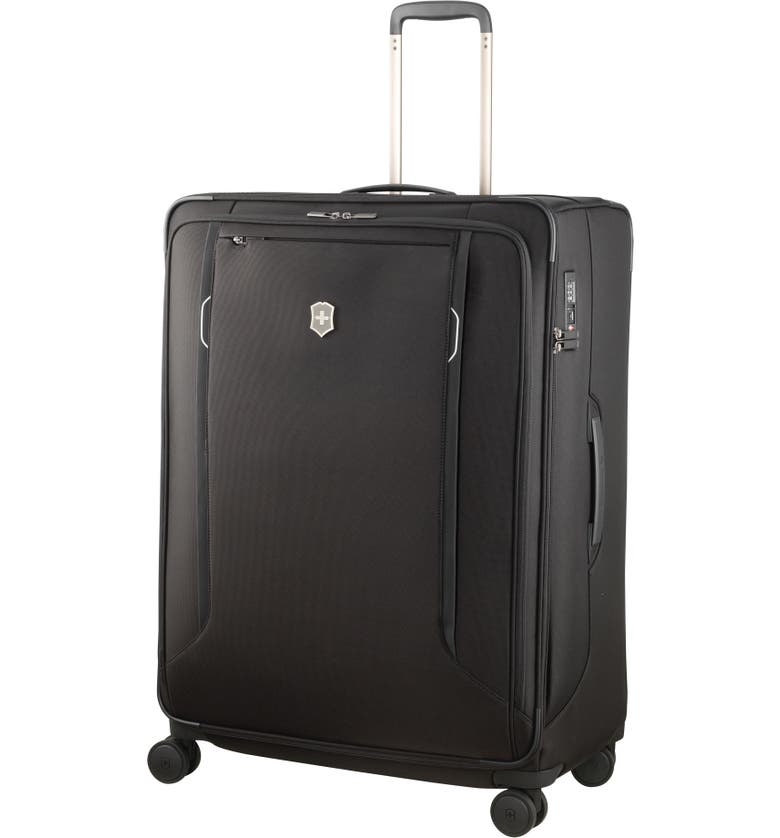 VICTORINOX SWISS ARMY<SUP>®</SUP> Werks 6.0 Extra Large 31-Inch Spinner Packing Case, Main, color, BLACK