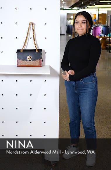Parker Leather & Genuine Snakeskin Shoulder Bag, sales video thumbnail