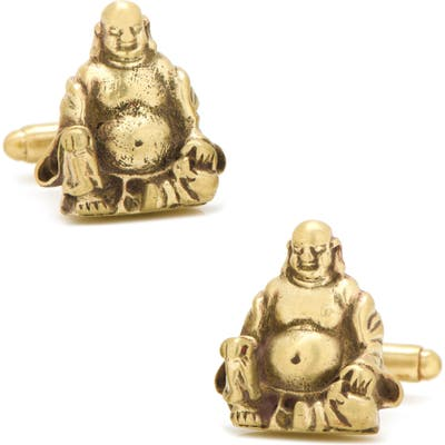 Cufflinks, Inc. Smiling Buddha Cuff Links