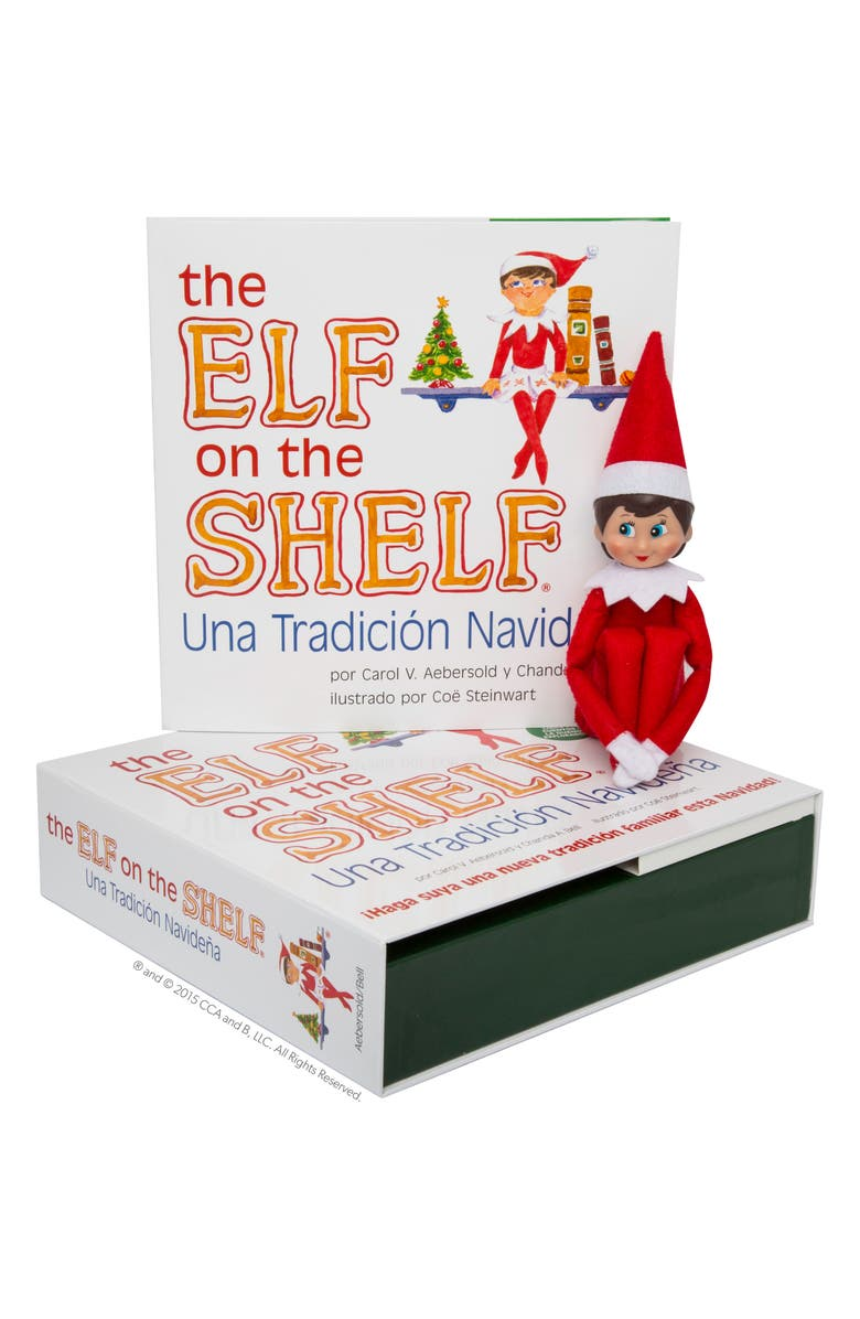 ELF ON THE SHELF Carol Aebersold and Chanda Bell 'The Elf on the Shelf<sup>®</sup>: A Christmas Tradition<sup>™</sup>' Book & Elf, Main, color, 600