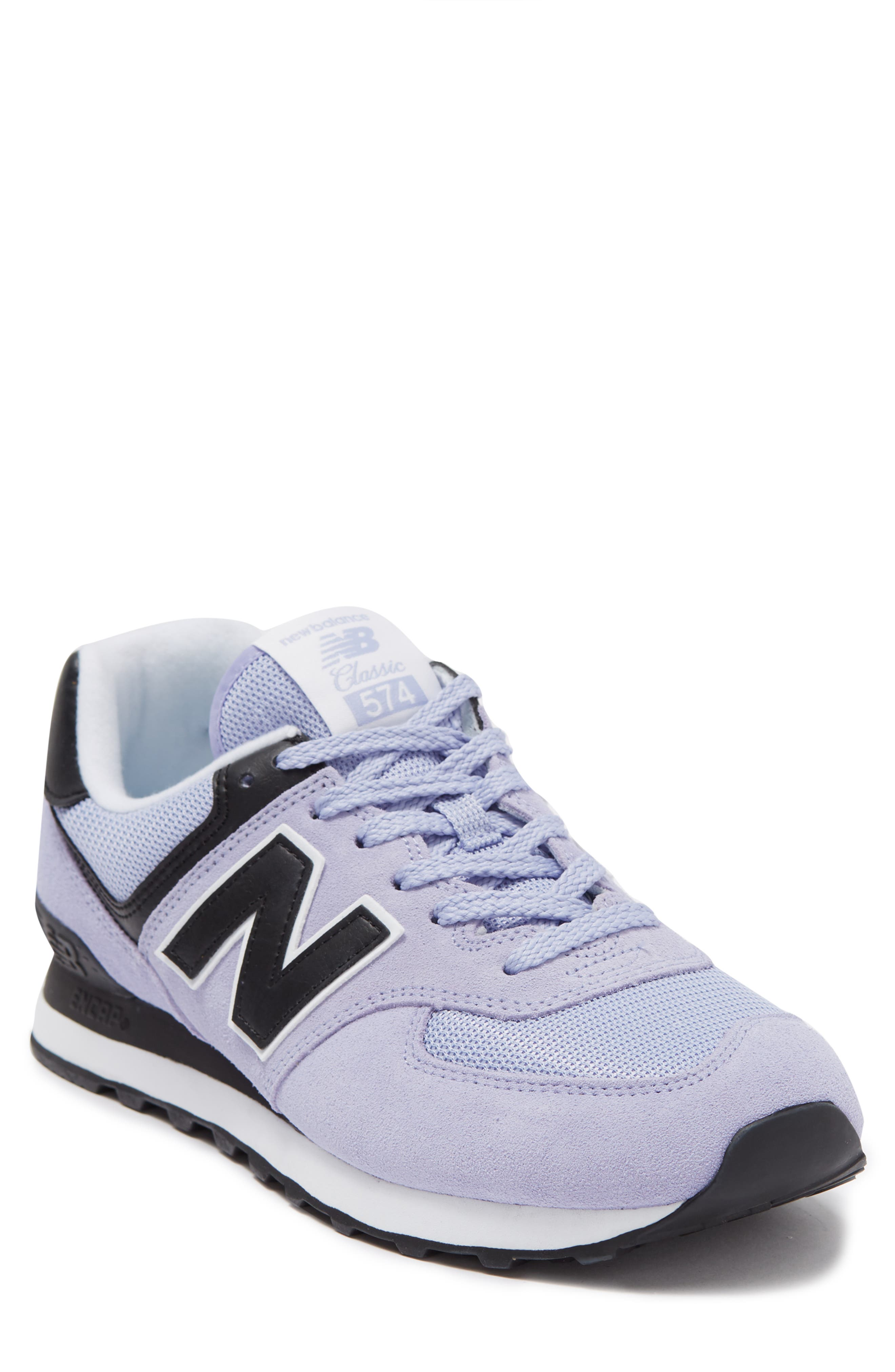 New Balance 574 Sneaker In Purple   ModeSens