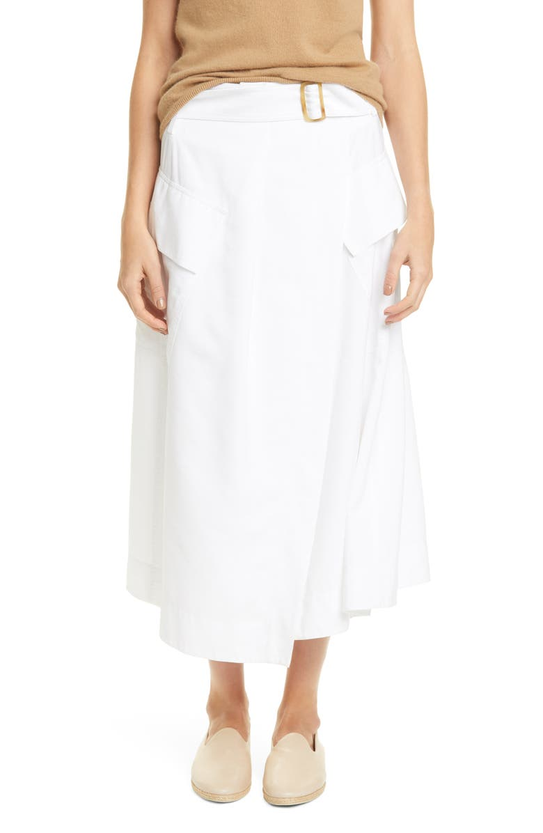 VINCE Utility Skirt, Main, color, OPTIC WHITE