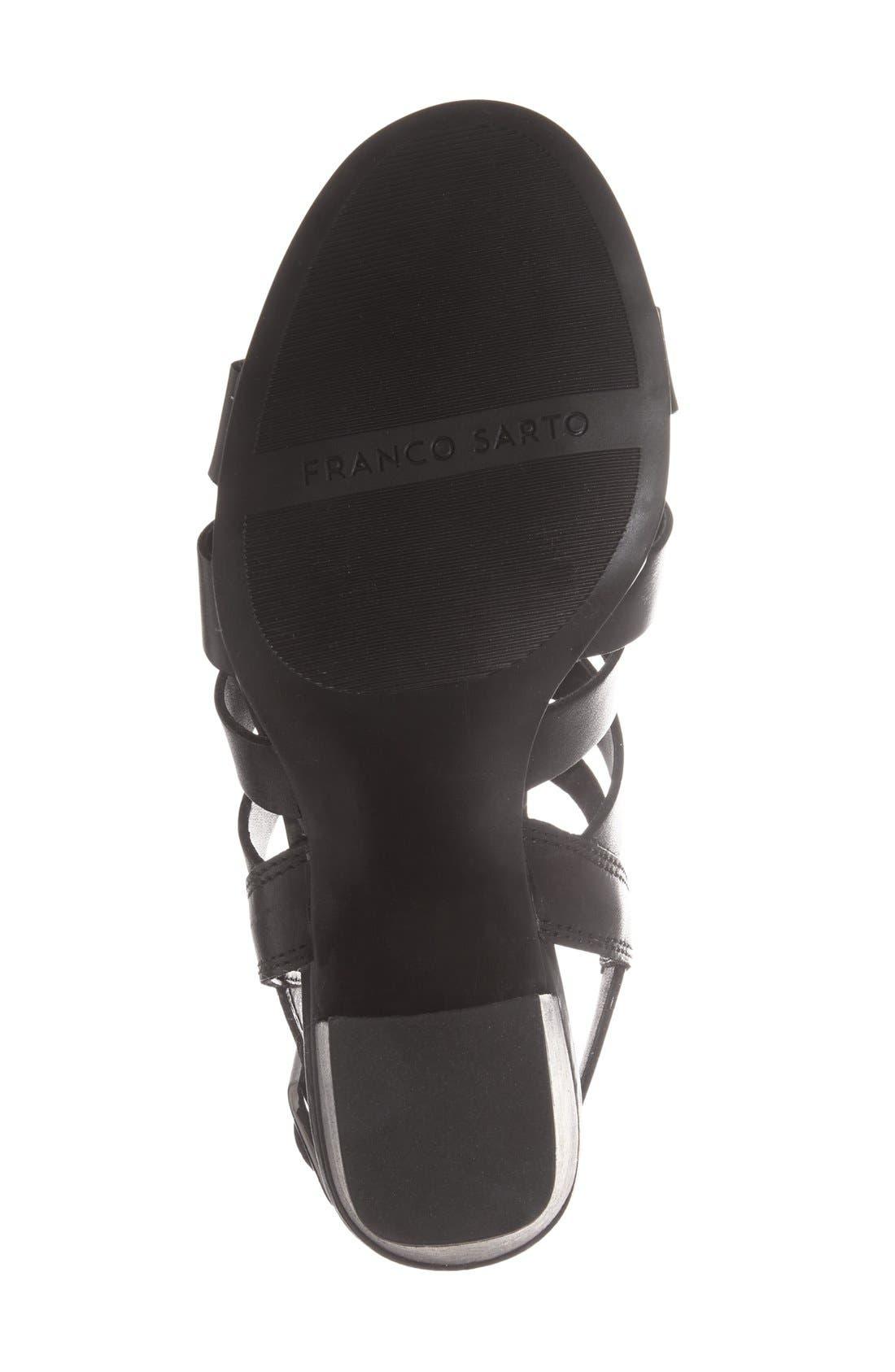 ,                             'Montage' Leather Sandal,                             Alternate thumbnail 8, color,                             002