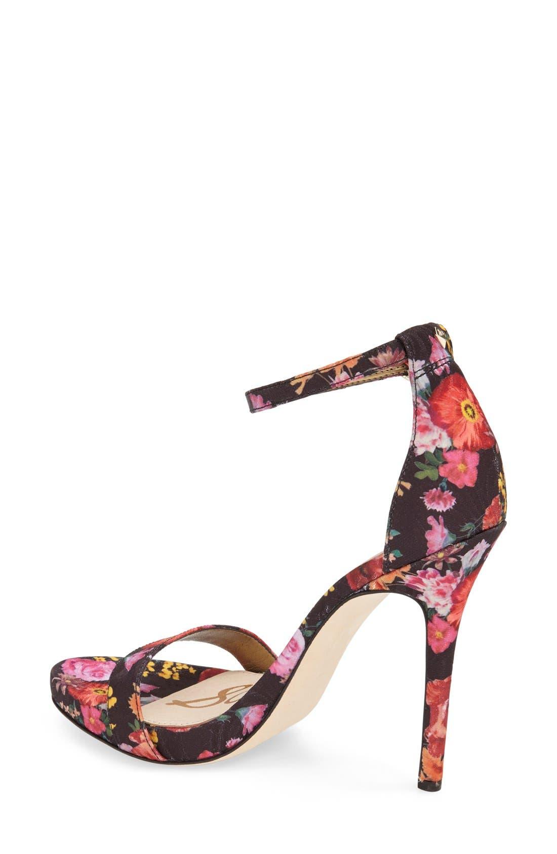 ,                             'Eleanor' Ankle Strap Sandal,                             Alternate thumbnail 46, color,                             009