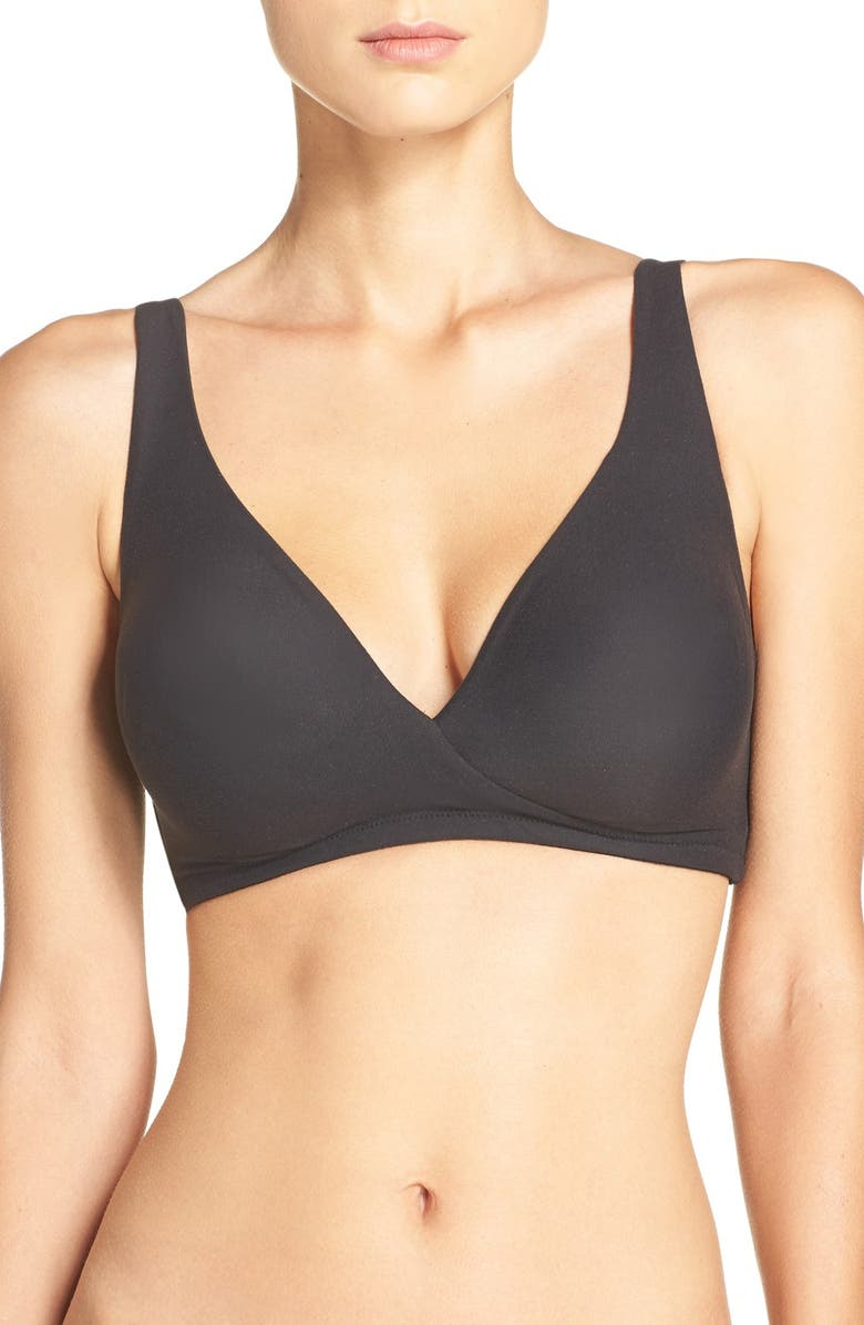WACOAL How Perfect Wireless Bra, Main, color, BLACK