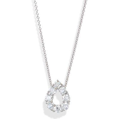 Bony Levy Diamond Teardrop Pendant Necklace (Nordstrom Exclusive)