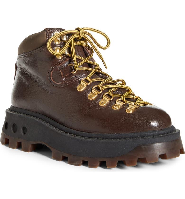 SIMON MILLER High Tracker Hiking Boot, Main, color, CHOCOLATE