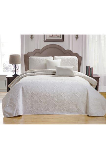 Image of Duck River Textile Carlotta 5-Piece Queen Bedspread Set - White