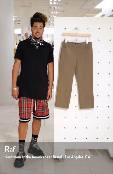 Stretch Cotton Crop Pants, sales video thumbnail