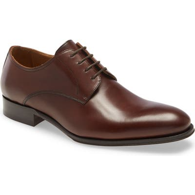 To Boot New York Declan Plain Toe Derby, Brown