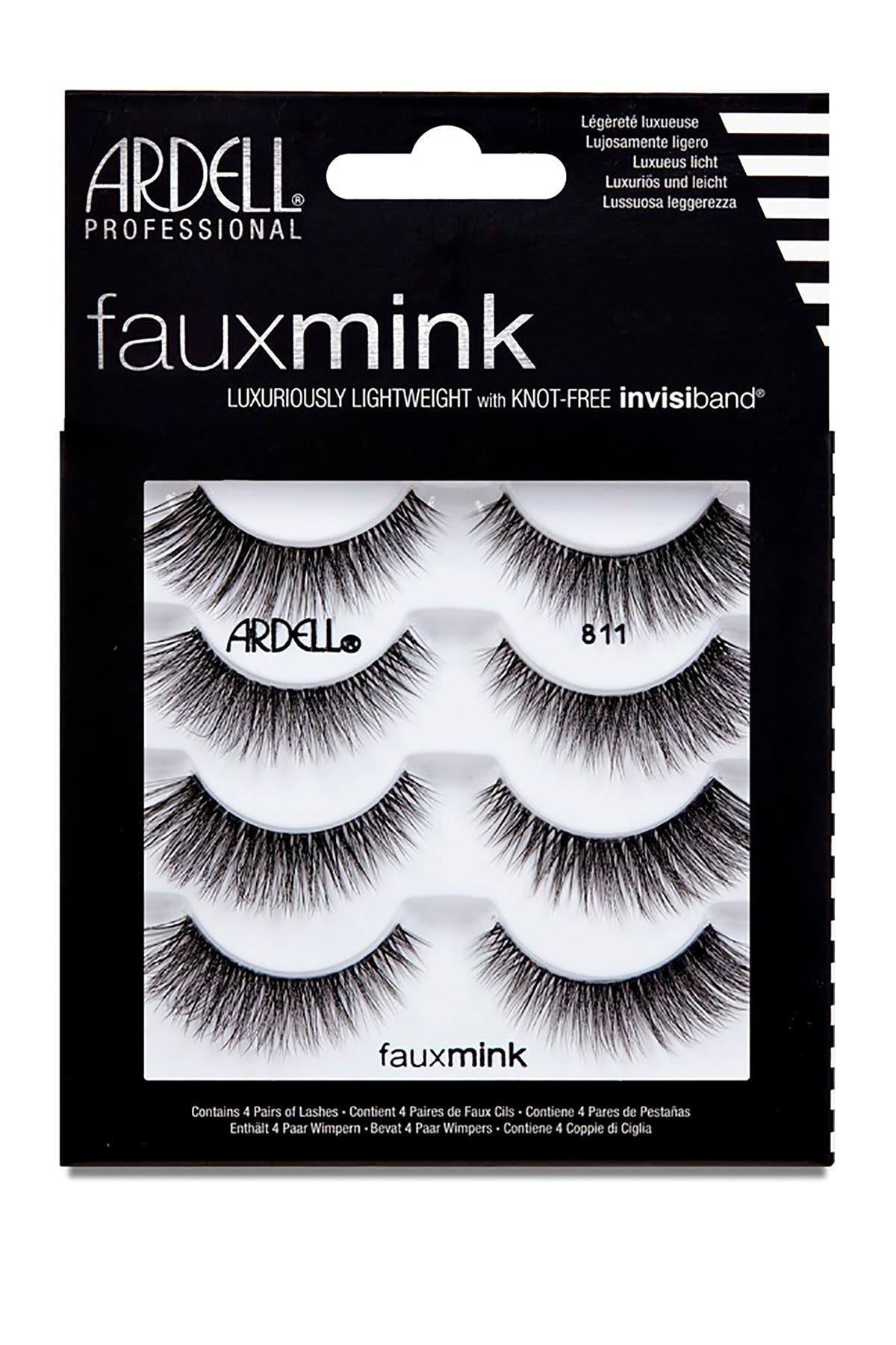 Image of ARDELL Faux Mink 811 Lashes - Pack of 4