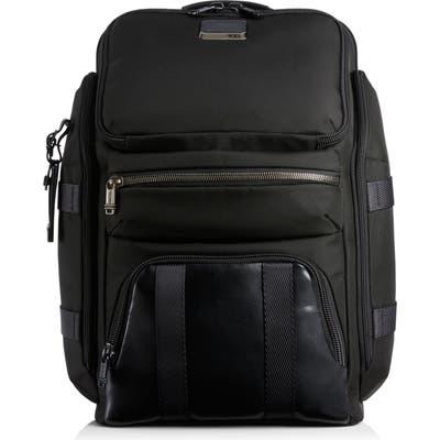 Tumi Alpha Bravo Tyndall Black Backpack - Black