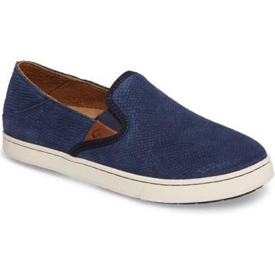 Olukai Pehuea Slip-On Sneaker, Blue