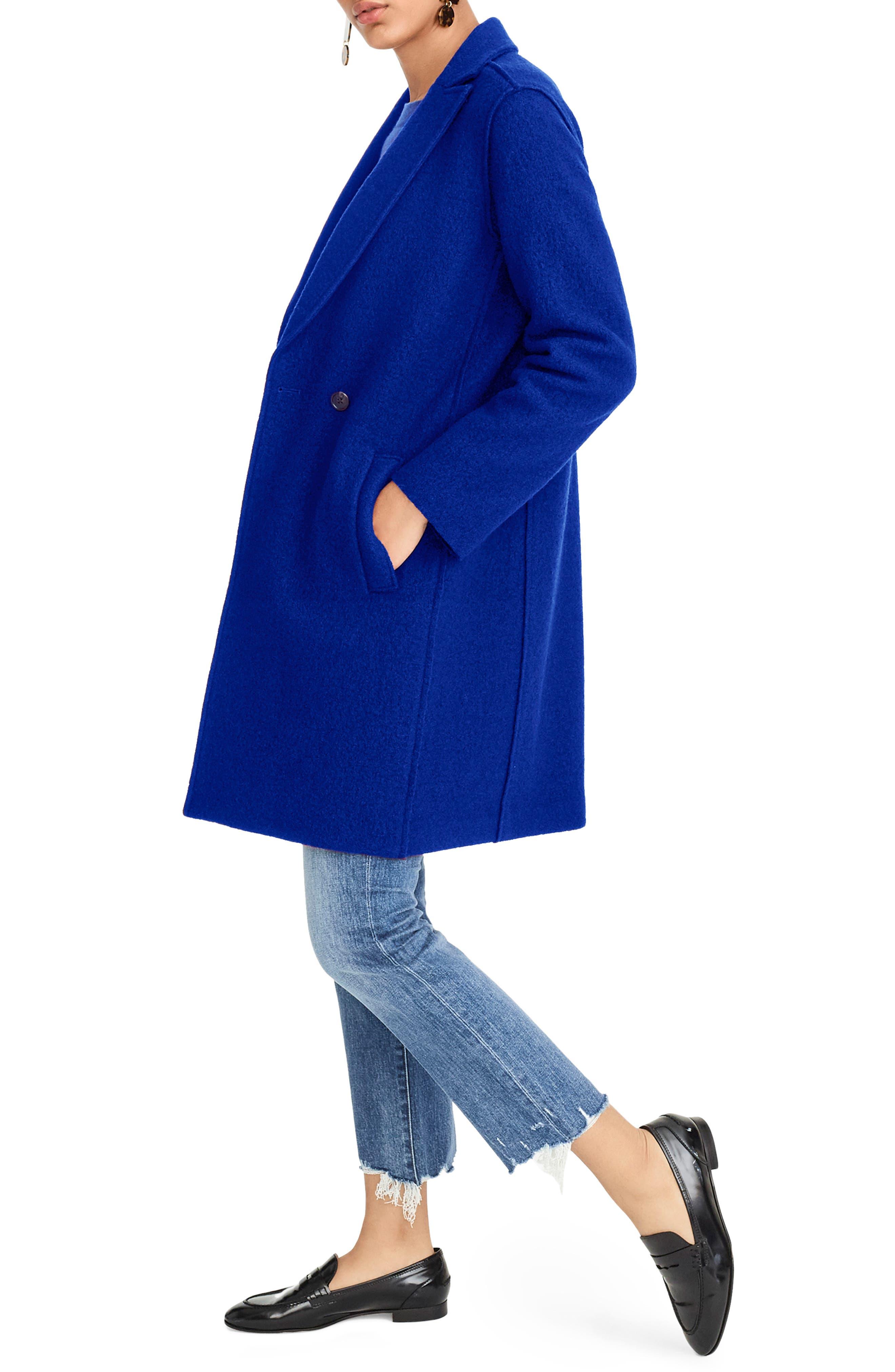 ,                             Daphne Boiled Wool Topcoat,                             Alternate thumbnail 42, color,                             400