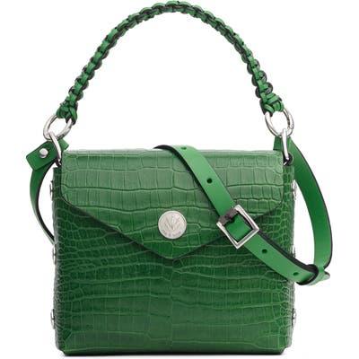 Rag & Bone Micro Atlas Leather Crossbody Bag - Green