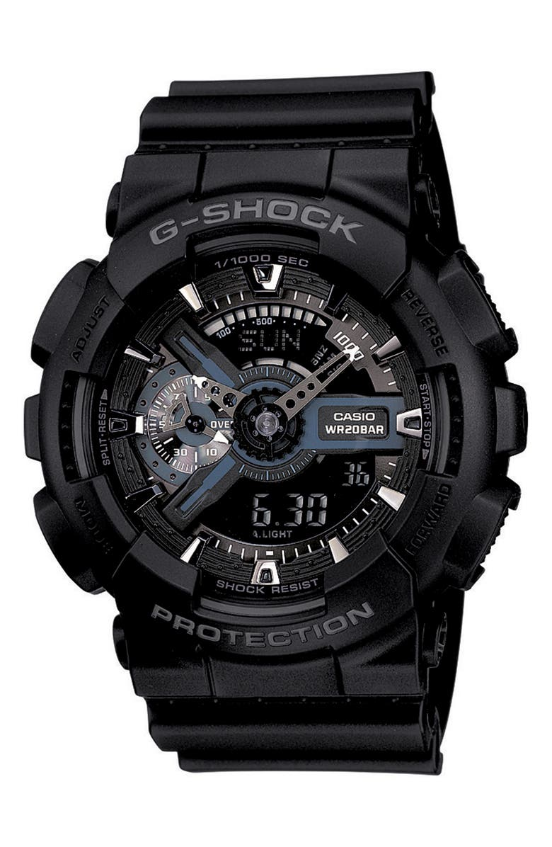 G-SHOCK BABY-G Ana-Digi Watch, 51mm, Main, color, BLACK