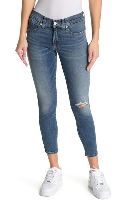 Image of Lucky Brand Ava Mid Rise Skinny Jeans