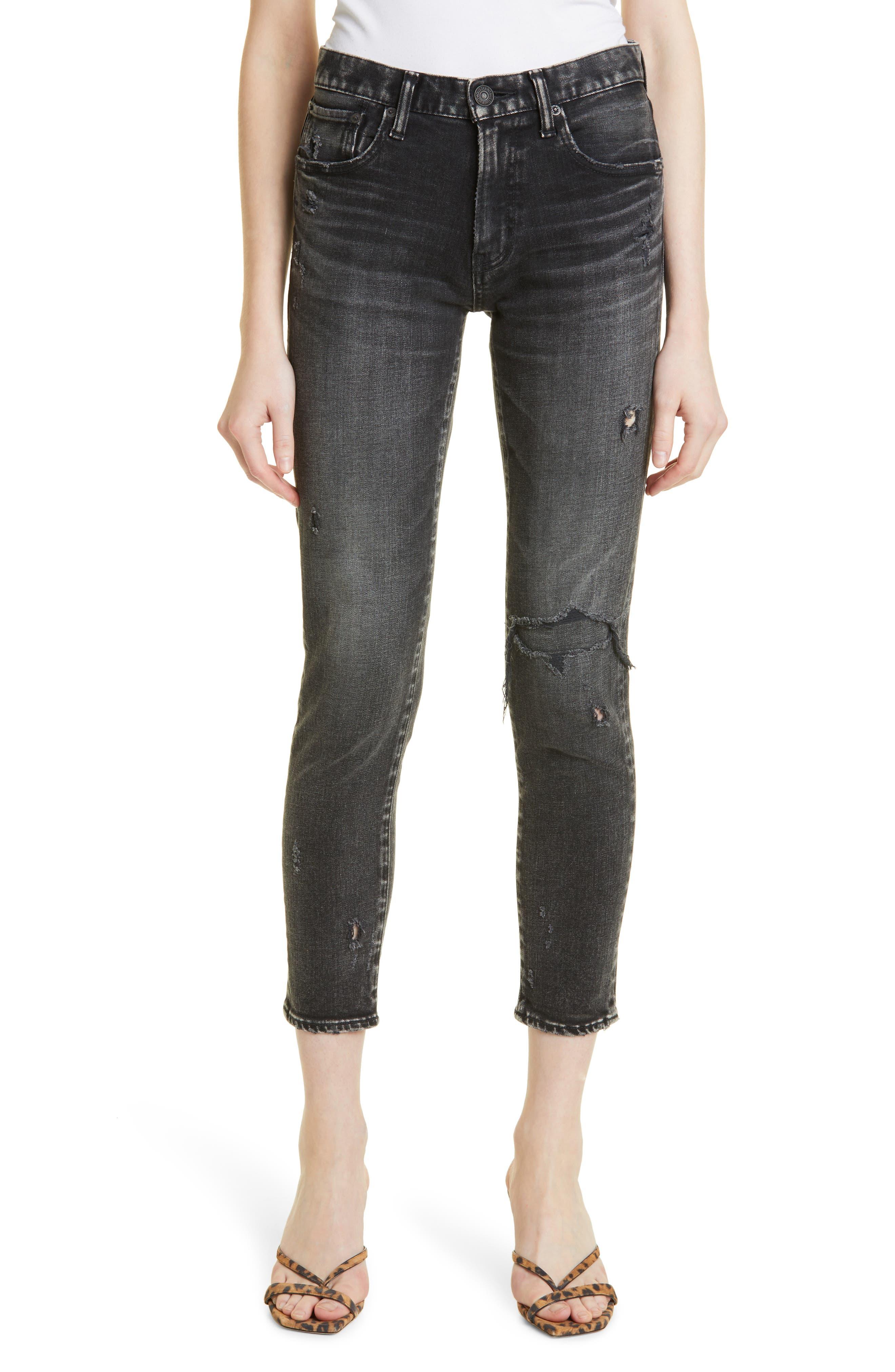 Lenwood Distressed Ankle Skinny Jeans
