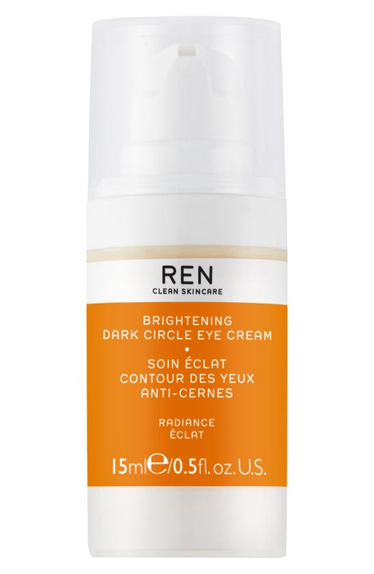Ren Clean Skincare Radiance Brightening Dark Circle Eye Cream 15ml In N,a