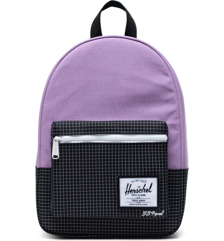 HERSCHEL SUPPLY CO. Small Grove Backpack, Main, color, REGAL ORCHID/ BLACK
