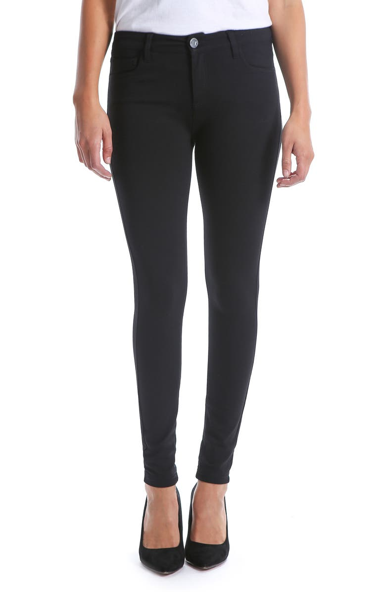 KUT FROM THE KLOTH Donna High Waist Ponte Skinny Pants, Main, color, 002